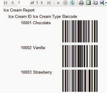 SSRS Barcode