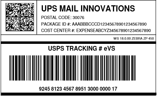 UPS Mail Innovations IMpb | UPSMI | BarcodeFAQ com