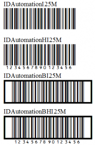Interleaved 2 of 5 Barcode FAQ & Tutorial | BarcodeFAQ com